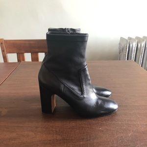 Vince Leather Booties